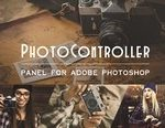 photo controller panel plug in for adobe photoshop