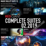 Red Giant Complete Suite 2019 for Adobe (Updated 27.02.2019)