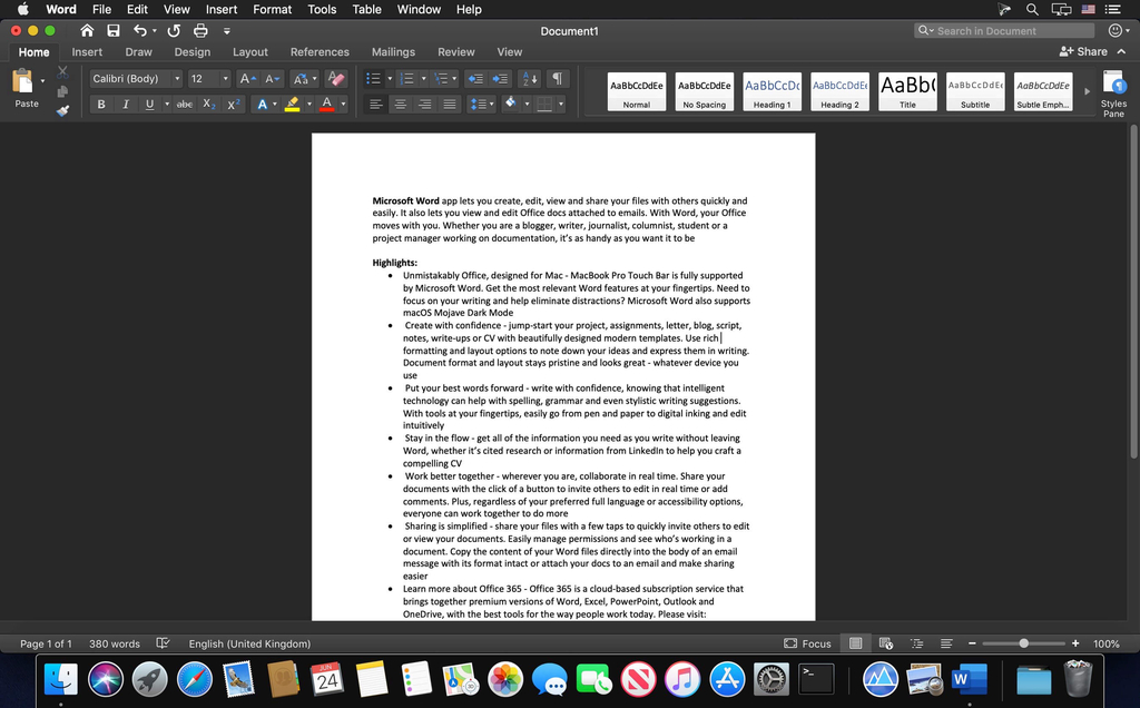 Word Office For Mac Torrent