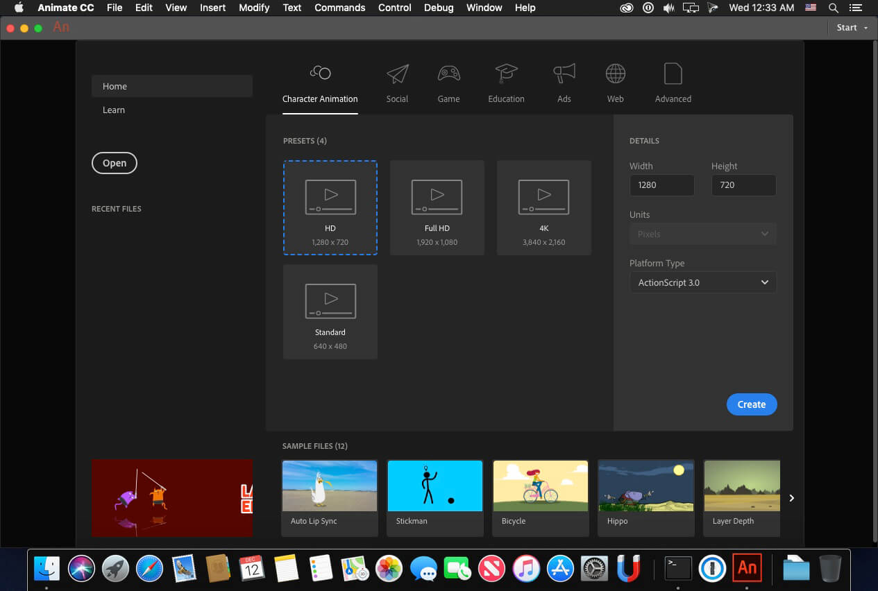 Adobe Animate for Mac 2