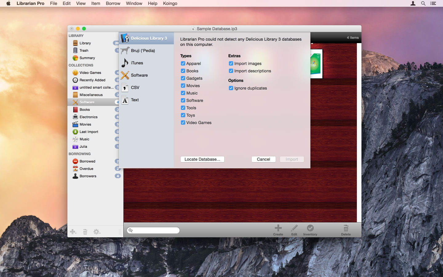 Librarian Pro 5.1